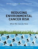 cover of the President's Cancer Panel 2010 Report