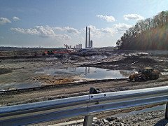 TVA coal ash disaster scene