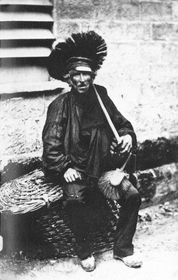 chimney sweep about 1850
