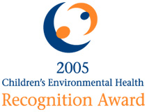 Children's Environmental Health Champion Award logo
