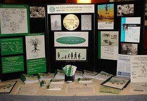 CHE's Healthy Aging and the Environment exhibit at Generations United Conference