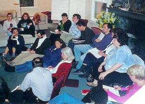 Participants at the 2001 PCHE meeting