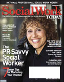 cover of the Social Work Today magazine