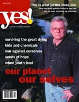 cover of the Spring 2003 Yes! Magazine